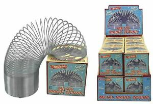 7cm Magic Springy Slinky Metal Spring Childrens Kids Retro Game Toy Gift