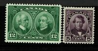 Canada SC# 146 & 147 Mint Never Hinged - S11239