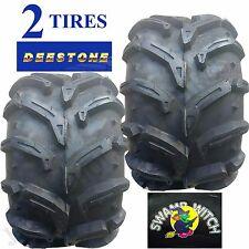 2) 22x11.00-9 ATV TIREs 22/11.00-9 22x11-9 22/11-9 Deestone Swamp Witch 6ply