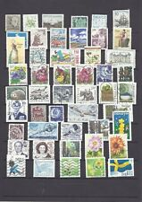 SWEDEN SUEDE SVERIGE ZWEDEN modern 1950 – 2018 mix stamps all different used