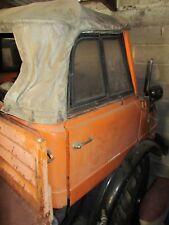 Unimog 406 Cabrio Zapfwellengetriebe Kommunalausstattung Besen Oldtimer Bj.1964