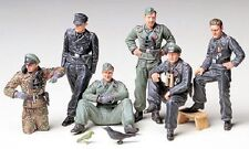 Tamiya America [TAM] 1:35 German Tank Crew At Rest Plastic Model Kit TAM35201