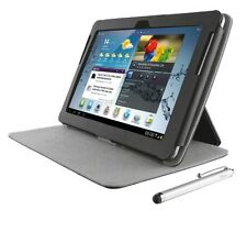 TRUST 19172 ELIGA FOLIO STAND WITH STYLUS FOR GALAXY TAB 2 10.1 - NEGRO