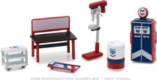 Greenlight 1/64 STANDARD OIL Muscle Shop Tools Great For Dioramas! 13157