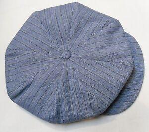 CASQUETTE VINTAGE RETRO SPORT TITANIC à chevron * IRLANDAISE MARSEILLAISE CAP