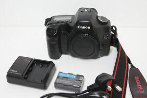 Canon EOS 5D 12.8MP Full Frame Digital SLR Camera - Black