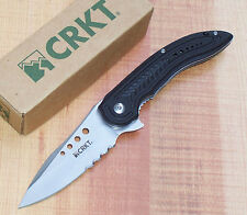 CRKT 5341 IKOMA CARAJAS FLIPPER FOLDING KNIFE with IKBS BEARING SYSTEM NEW
