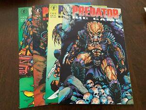 Predator: Big Game #1 - 4 (1991, Dark Horse Comics) LOT OF 4 SET VF+/NM- or +++