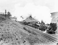OLD TRAIN PHOTO GWR 3100 2-6-2T locomotive assisting a 2800 2-8-0 goods engine