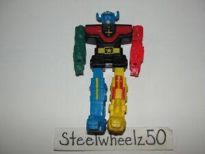 Vintage Voltron Lion Force Assembler Rubber Action Figure WEP LJN Toys 1984 5.25