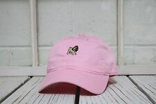 NEW PUG EMBROIDERED POLO BASEBALL HAT HIP HOP CAP PINK