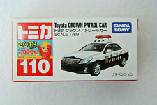 Free Shipping 2012 Japan Tomica 110 1:69 Toyota Crown Patrol Car First Edition