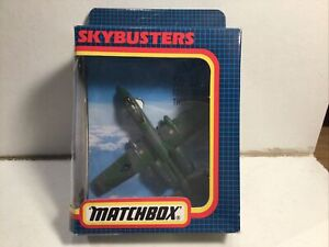 Vintage Matchbox Skybusters SB-32 Fairchild A-10 Thunderbolt Near Mint In Box