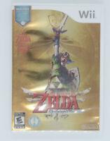 The Legend of Zelda: Skyward Sword (Nintendo Wii, 2011) CIB Very Good Condition