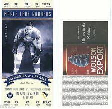 Pittsburgh Penguins @ Toronto Maple Leaf Gardens NHL Hockey Proof Ticket 10.98