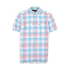 Tommy Hilfiger Herren Hemd Shirt Freizeithemd Gr.S Button Down Mehrfarbig 95800