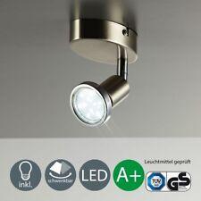Deckenleuchte LED Deckenlampe Spot-Strahler Wohnzimmer schwenkbar GU10 B.K.Licht