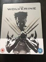 The Wolverine 3D Steelbook Blu-ray. Mint