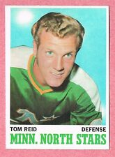 1970-71 70-71 O-PEE-CHEE OPC ROOKIE #43 Tom Reid RC SET BREAK (1)