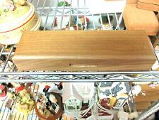 "Goebel Miniatures Wood Storage Display Box 9.5"" Shop Display Kh"