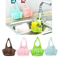 Portable Hanging Drain Bag Basket Bathroom Home Kitchen Storage Tool Sink Holder