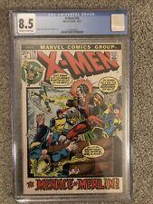X-MEN #78 Marvel Comics lot CGC 8.5 Bronze Age fun with Black Tom