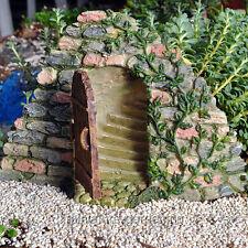 Miniature Fairy Garden Door with Hidden Stairway