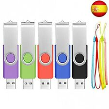 FEBNISCTE 5 piezas 4GB PenDrive USB 2.0 Giratorio 4GB,  (4GB, Multicolor)