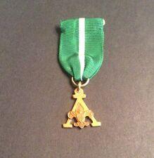 Vintage BSA Boy Scouts Training Award Medal 1/20 10K Gold Filled - VG Condition
