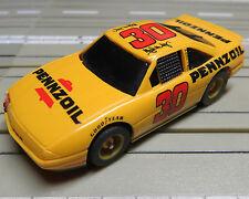 para H0 coche slot racing Maqueta de tren NASCAR / Stockcar N º 30 con TYCO