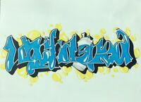 "ORIGINAL PRISON INMATE PRISON ART DRAWING GRAFFITI GRAPHICS ""UNCHAINED"" 11 x14"