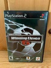 World Soccer Winning Eleven 6 International Playstation 2 PS2 Complete CIB
