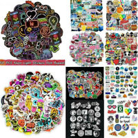 Lots 50-100pcs Skateboard Stickers bomb Vinyl Laptop Luggage Decals Dope Sticker