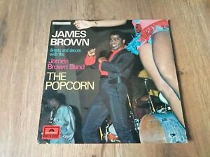 """LP FUNK JAMES BROWN DIRECTS & DANCES WITH JAMES BROWN BAND """"THE POPCORN"""" 1969 FR"""
