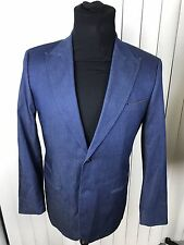 G-STAR Correct Line RAW Men's CL Tailored 2 BLAZER Jacket  Size 50 Blue