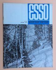 Magazine d'entreprise ESSO PANORAMA n°64 Janvier 1969 Pétrole Oil Industry