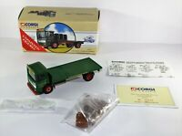 CORGI - AEC 4 WHEEL FLATBED LORRY WITH BARRELS - FEDERATION BREWERY - LTD EDITN