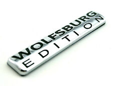WOLFSBURG EDITION Emblem ABS Chrome Car Badge for VW Passat Jetta TDI Golf GTI