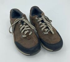 Clarks Mens Wave Walker Brown Leather Size 10M Lace Up Casual Comfort