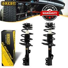 Pair (2) Front Complete Struts & Coil Spring w/ Mounts For 2005-06 Camry ES330