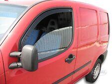 DFI15130 Fiat Doblo 5 Puertas 2001-2010 HEKO Derivabrisas Negro 2 Piezas Kit