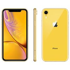 AT&T / Cricket / h2O Apple iPhone XR YELLOW 4G LTE 64GB Smart Video Cell Phone