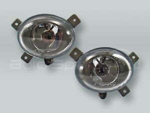 TYC Fog Lights Driving Lamps Assy with bulbs PAIR fits 2001-2004 VOLVO S60