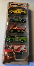 2017 Matchbox 5 Pack Emergency Response 'Vehicles Descriptions Below' SHIPS FREE