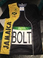 Usain Bolt Signed Rio Olympics Jersey Gold Medal 9x Gold 🇯🇲 Jamaica Beckett #3