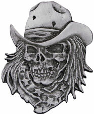 Skull Motorcycle Badges and Patches