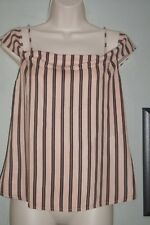 Urban Outfitters Light before dark top strappy & off the shoulder sz small brown