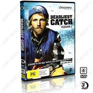 Deadliest Catch DVD : Season 1 : TV Series : Brand New 3 Disc Set