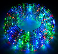 50' LED Rope Light Home In/Outdoor Christmas Decorative Party Light Holiday 110V