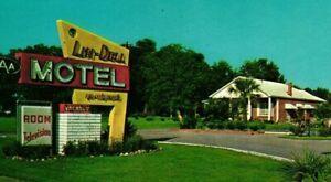 Vintage Postcard - 1965 Lin-Dell Motel Hardeeville South Carolina SC #8469